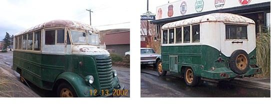 RV Historic Article - 1940 Howard Hughes Bus | Featured Image