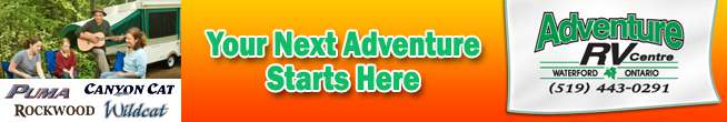 Adventure RV Centre is a Waterford Ontario RV dealer.