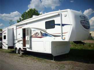 Used 2008 Heartland Big Horn 3055rl Fifth Wheel Waterdown Rvhotline Mobile
